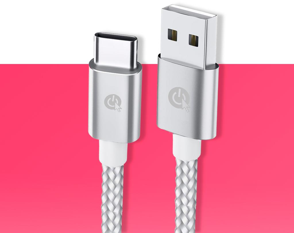 Cable USB-C trenzado